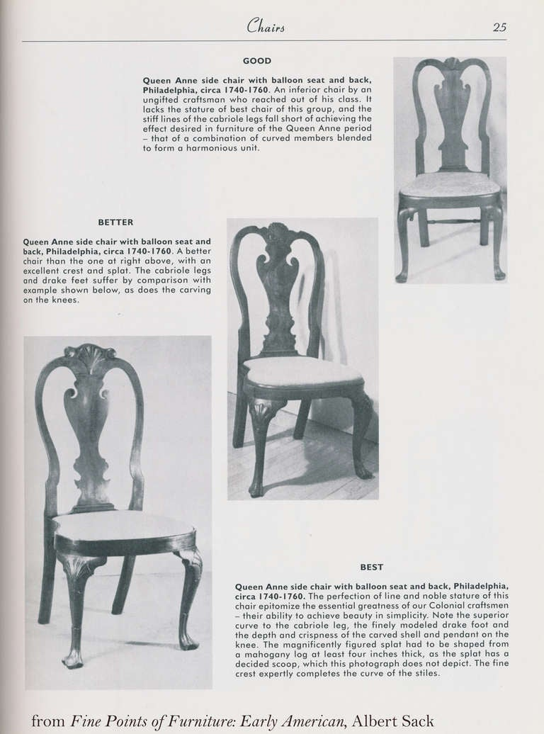 Pair of Walnut Queen Anne Side Chairs with Shell, Philadelphia, circa 1740-1760 For Sale 4