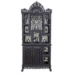 Display Cabinet or Etagere, China, Late 19th-Early 20th Century