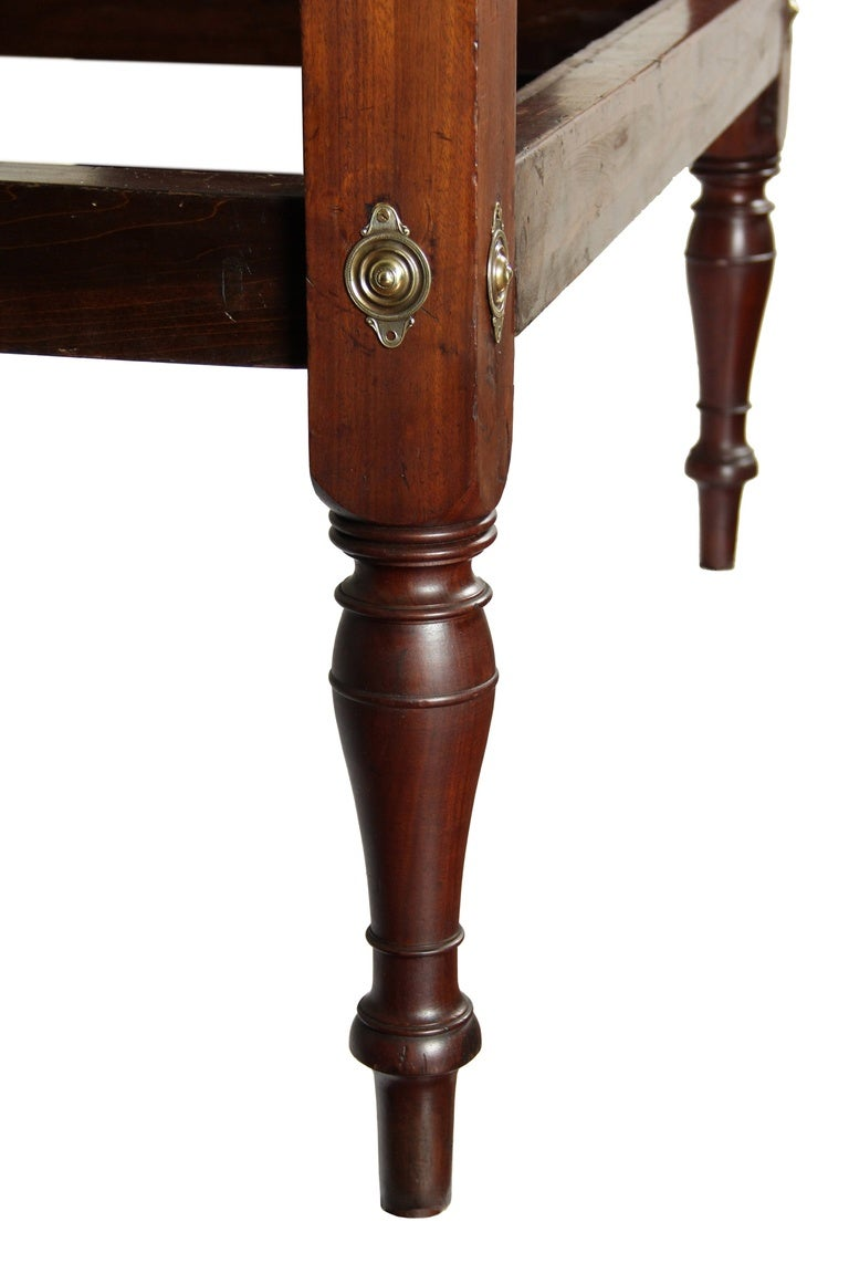 Carved mahogany sheraton tall post bed for sale at stdibs