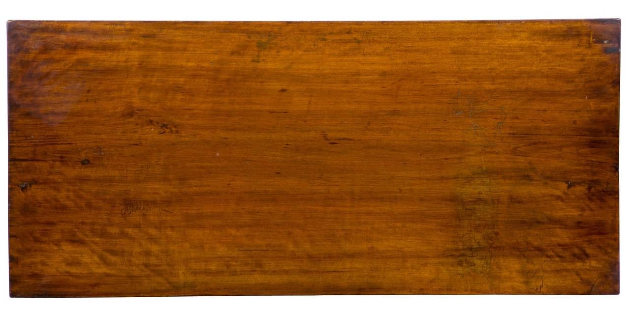 Hepplewhite Mahogany, Birch Inlaid Chest of Drawers, New Hampshire, circa 1815 For Sale 3