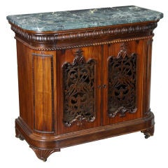 Rosewood Rococo Revival Commode, J. & J.W. Meeks, New York, circa 1845-1850