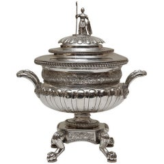 Georgian Irish Sterling Silver Tureen