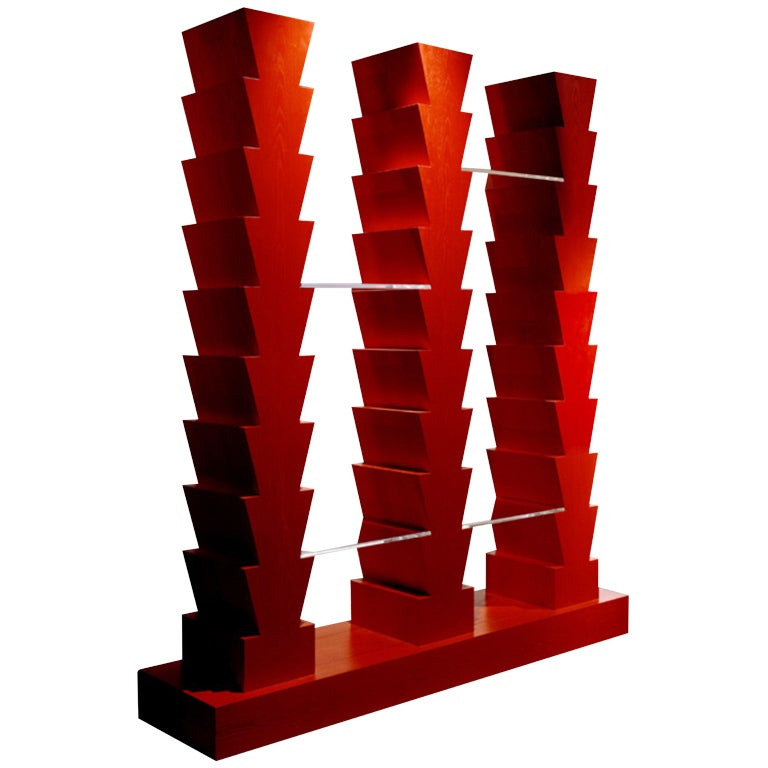 Ettore Sottsass Adesso Pero Bookcase From The Ruins Series