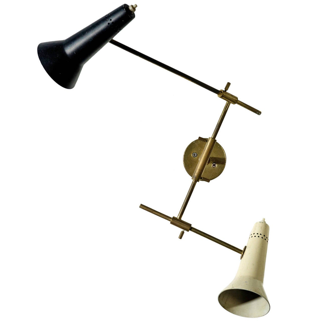 Wall Lights Models : Gino Sarfatti Wall Sconce, Model 169/2 at 1stdibs