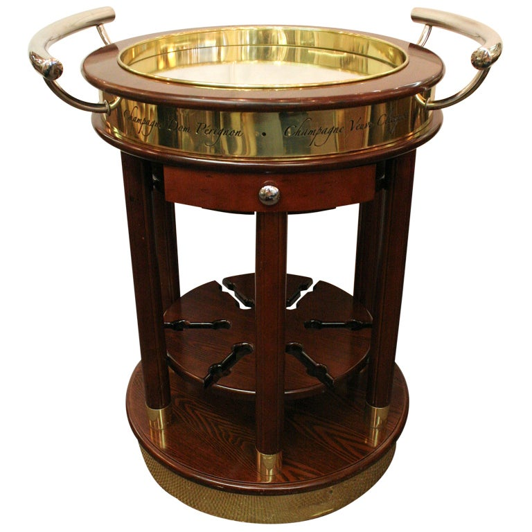 Champagne Trolley At 1stdibs