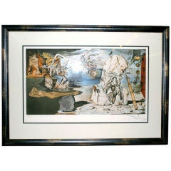 The Apotheosis of Homer by Salvador Dali, Hand Signed Lithograph