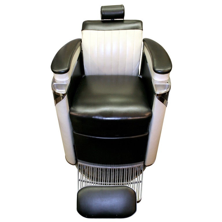 Koken President Barber Chair At 1stdibs