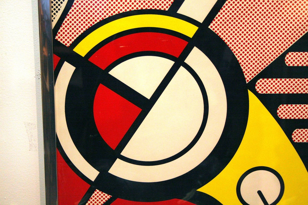 Poster of aspen jazz by roy lichtenstein at 1stdibs for Poster roy lichtenstein