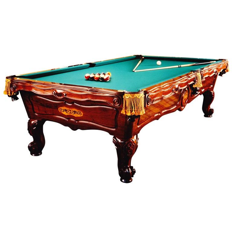 Fantastic Jewel Encrusted Billiard Table Owned By David