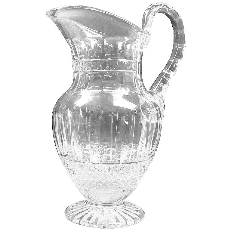 Saint Louis Crystal Tommy Pitcher At 1stdibs