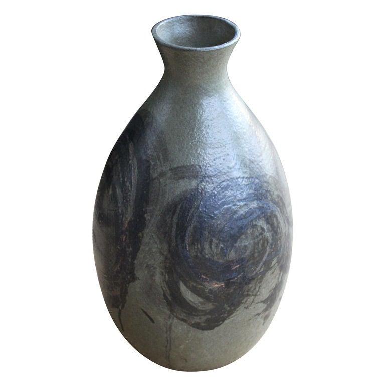 Monumental Italian Ceramic Urn Vase At 1stdibs