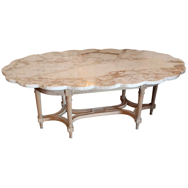 French Style Coffee Table At 1stdibs