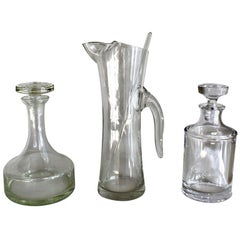 Martini Set/ Asst. Liquor Decanters