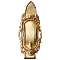 Saks 5th Ave Brass Plated Note Clip