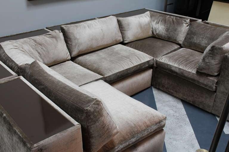 Mid-Century Modern Vintage Mid century modern Milo Baughman for Thayer Coggin sectional sofa