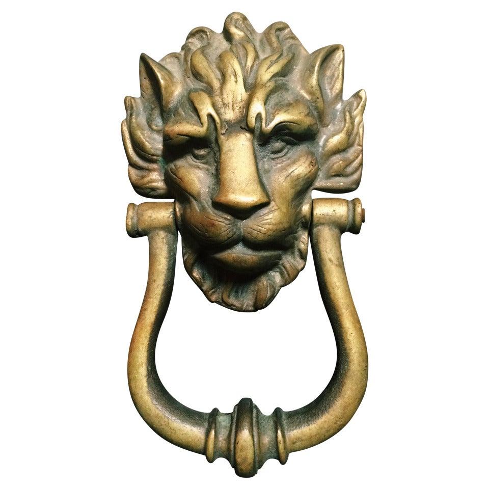 Vintage Style Brass Door Knocker Nude Lady Door Pull Nude Girl Knocker