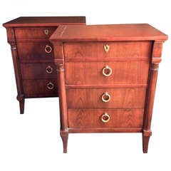 Pair of Baker Nightstands Arbus Inspired