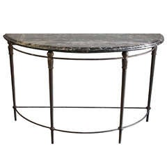 Polished Chrome Bar Cart In The Manner Of Milo Baughman At