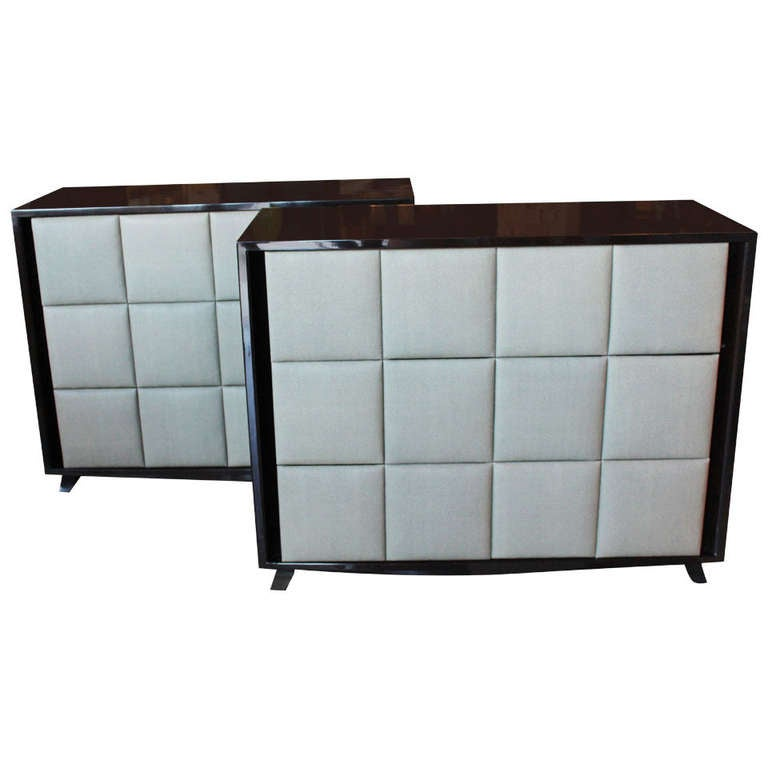 Pair Deco Chests By Gilbert Rohde For Herman Miller At 1stdibs