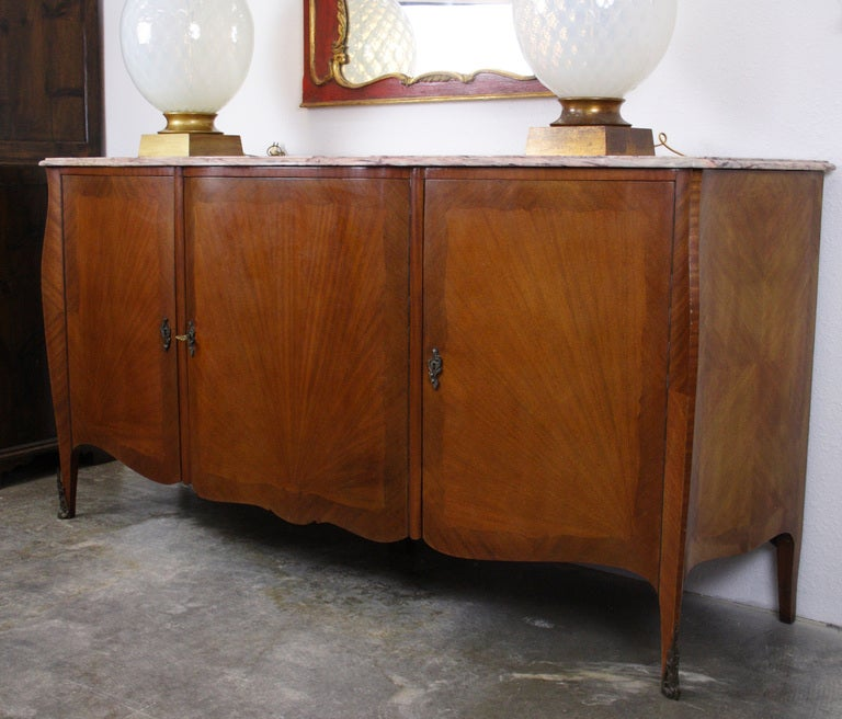 French Art Deco Transitional Louis XV / XVI Buffet 2