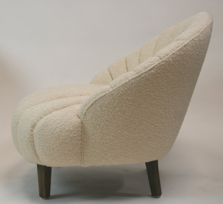 tufted slipper chair target pair art deco channel chairs sale oswald