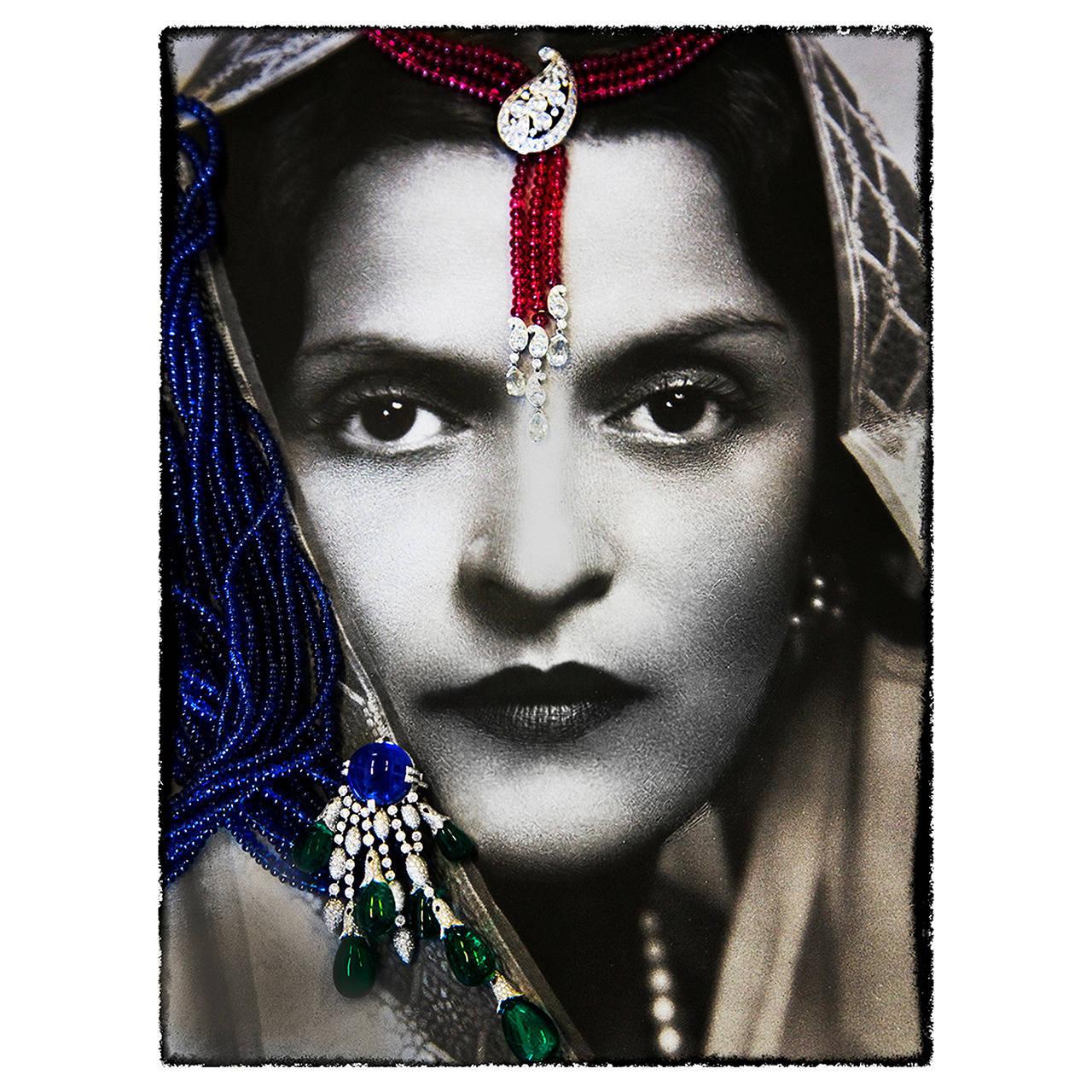 "Alexandra Penney ""Indian Beauty"" Photograph, 2014"