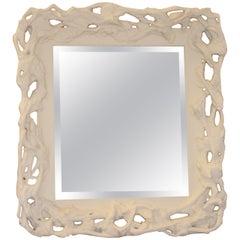 Large Faux Bois Mirror