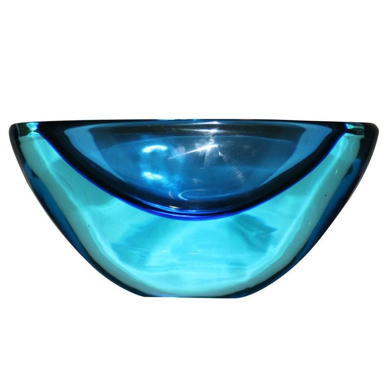 Large Seguso Murano Bowl