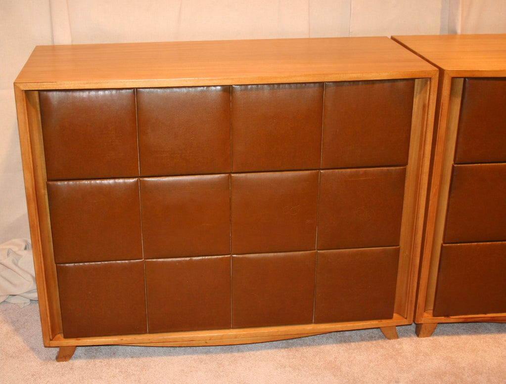 American Pair of Chest of Drawers by Gilbert Rohde for Herman Miller For Sale