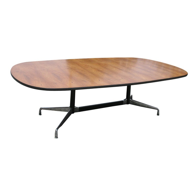 charles and ray eames aluminum group conference table at. Black Bedroom Furniture Sets. Home Design Ideas