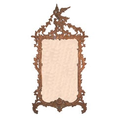 ItalianChippendale Style Carved Mirror