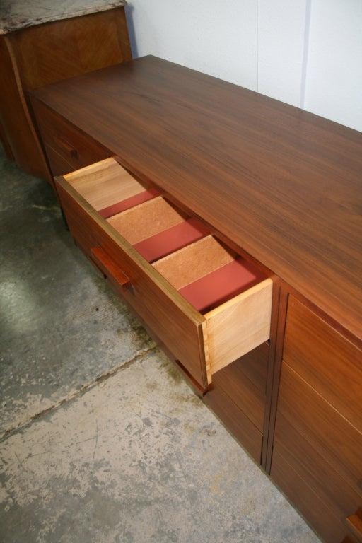 Mid-20th Century Mid-Century Modern Twelve Drawer Dresser For Sale