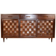 Edward Wormely for Dunbar Woven Front Credenza