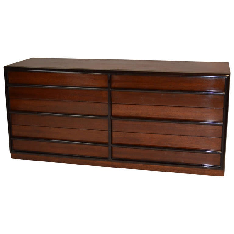 Robsjohn-Gibbings for Widdicomb Six Drawer Dresser 1
