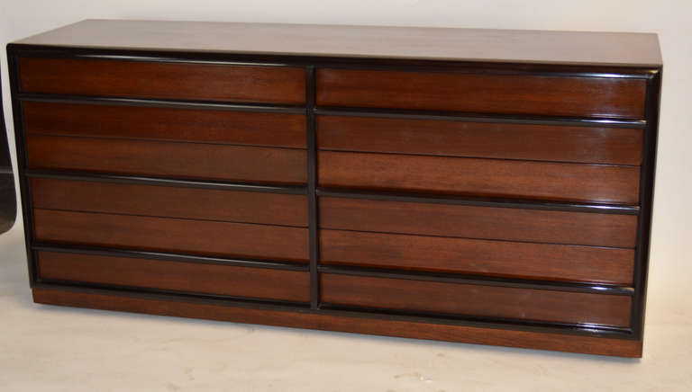 Robsjohn-Gibbings for Widdicomb Six Drawer Dresser 2
