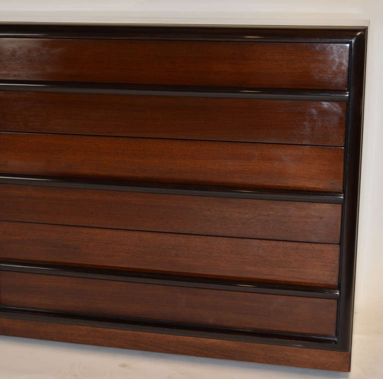 Robsjohn-Gibbings for Widdicomb Six Drawer Dresser 4