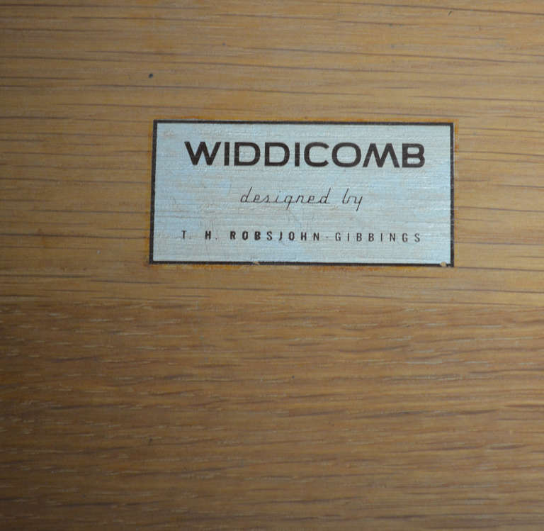 Robsjohn-Gibbings for Widdicomb Six Drawer Dresser 5
