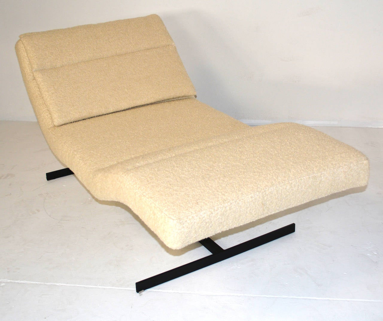 Saporiti chaise longue at 1stdibs for 1 zitsbank met chaise longue