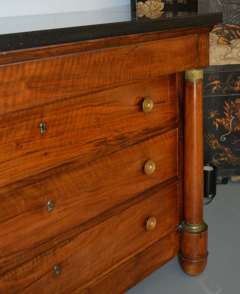 19th Century French Empire Commode In Good Condition For Sale In Palm Springs, CA