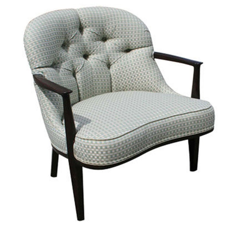 "Edward Wormley ""Janus"" Armchair for Dunbar"
