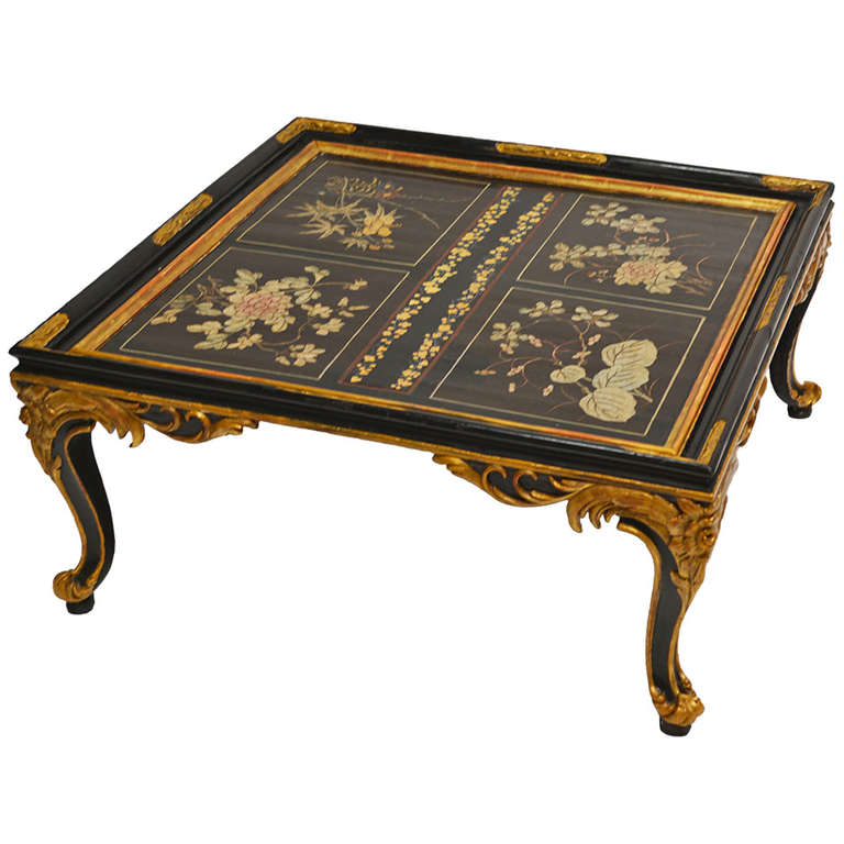 Maison Jansen Chinoiserie Coffee Table For Sale At 1stdibs