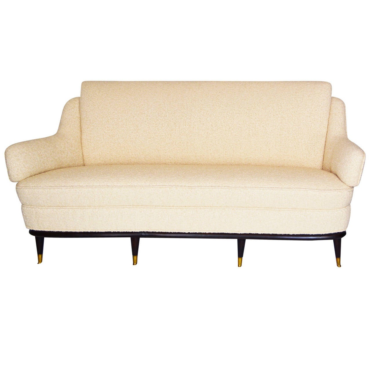 Sculptural Italian Sofa