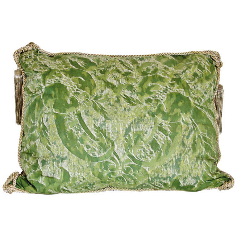 Vintage Pillows: Vintage Fortuny Pillow For Sale At 1stdibs