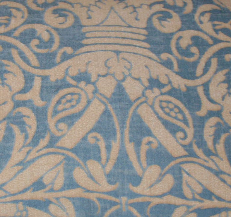 Vintage Fortuny Pillow 3