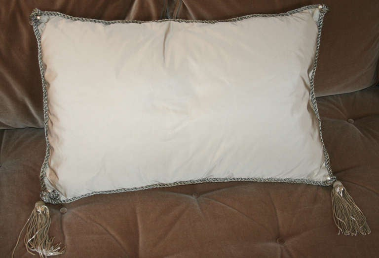Vintage Fortuny Pillow 5