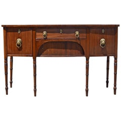 19th Century Regency English Mahogany Sideboard