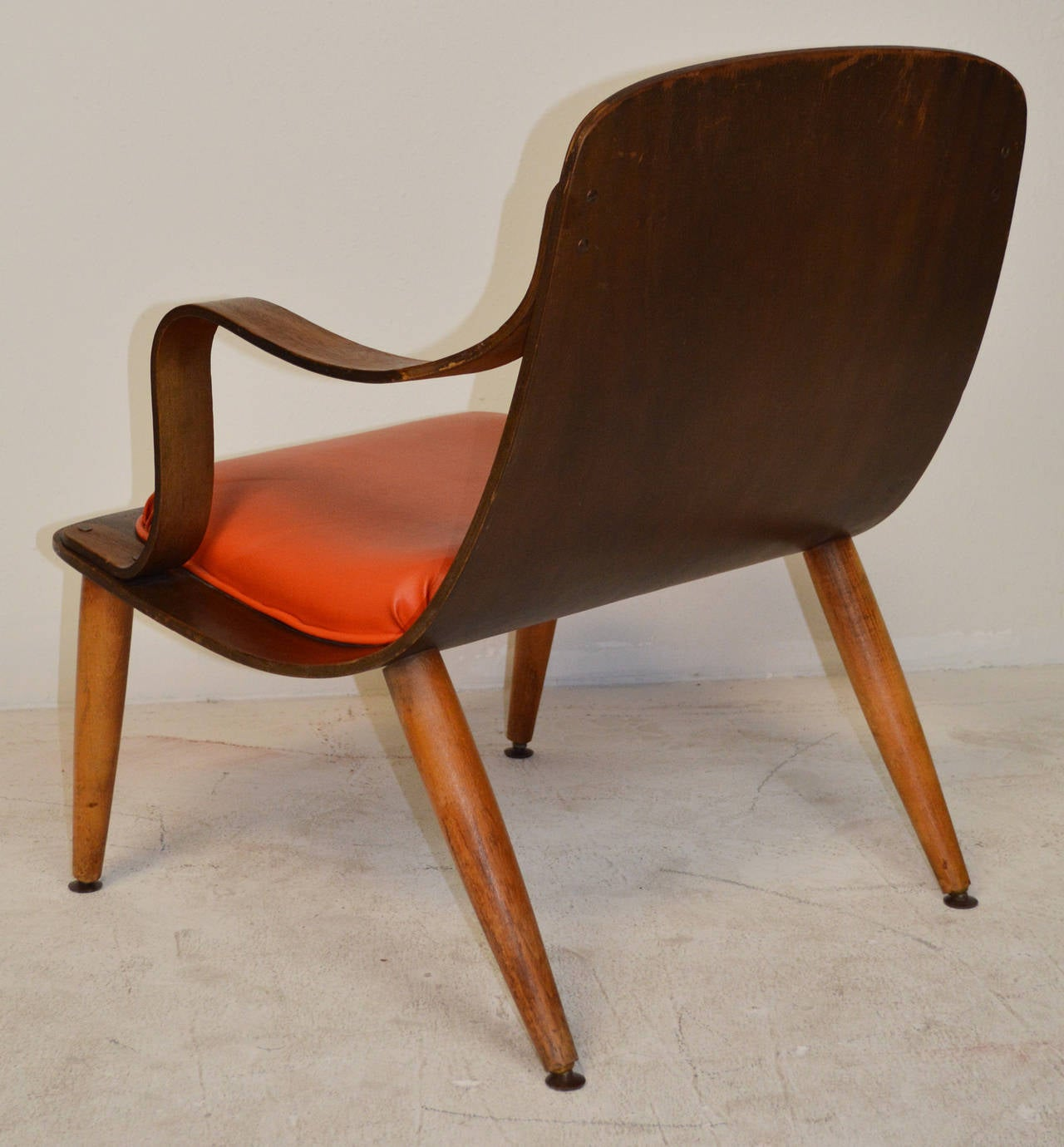 Mid Century Bent Plywood Chair 2