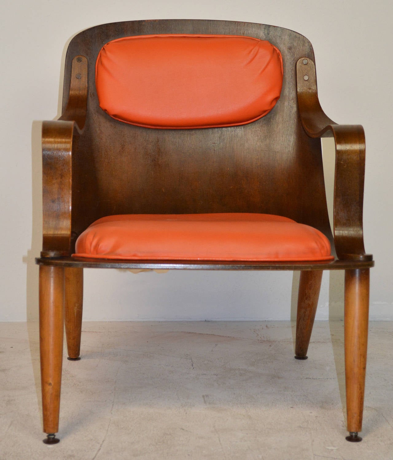 Mid Century Bent Plywood Chair For Sale At 1stdibs