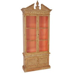 20th Century Georgian Bookcase