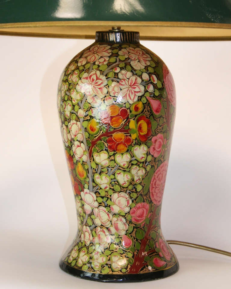 Pair of 19th century english papier mache lamps for sale for How to make paper mache lamps